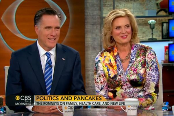 Holy florals, Ann Romney.
