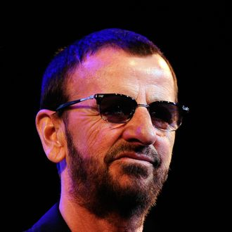 WEST HOLLYWOOD, CA - JANUARY 30: Musican Ringo Starr on stage at