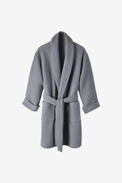 Macy's Hotel Collection Cotton Waffle Textured Bath Robe