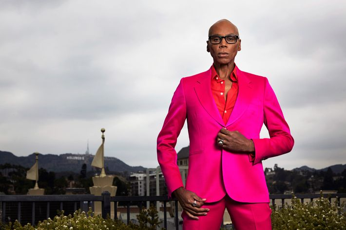 RuPaul, ES magazine UK, July 17, 2014