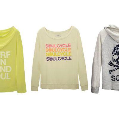 SoulCycle sweatshirts.