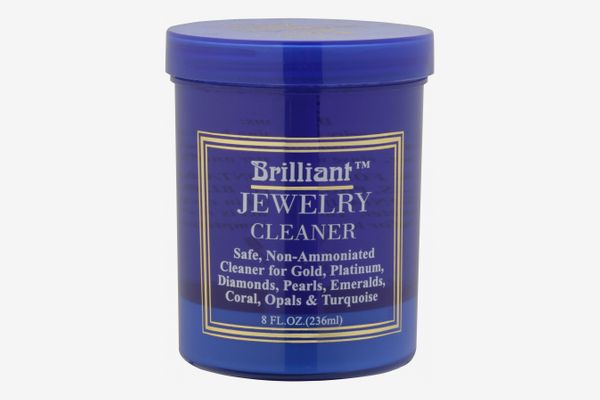 Brilliant® 8 Oz. Jewelry Cleaner With Cleaning Basket and Brush