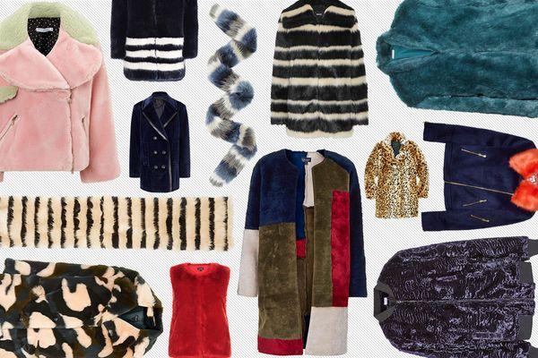20 Chic and Cozy <em>Faux</em>-Fur Pieces for the Cold