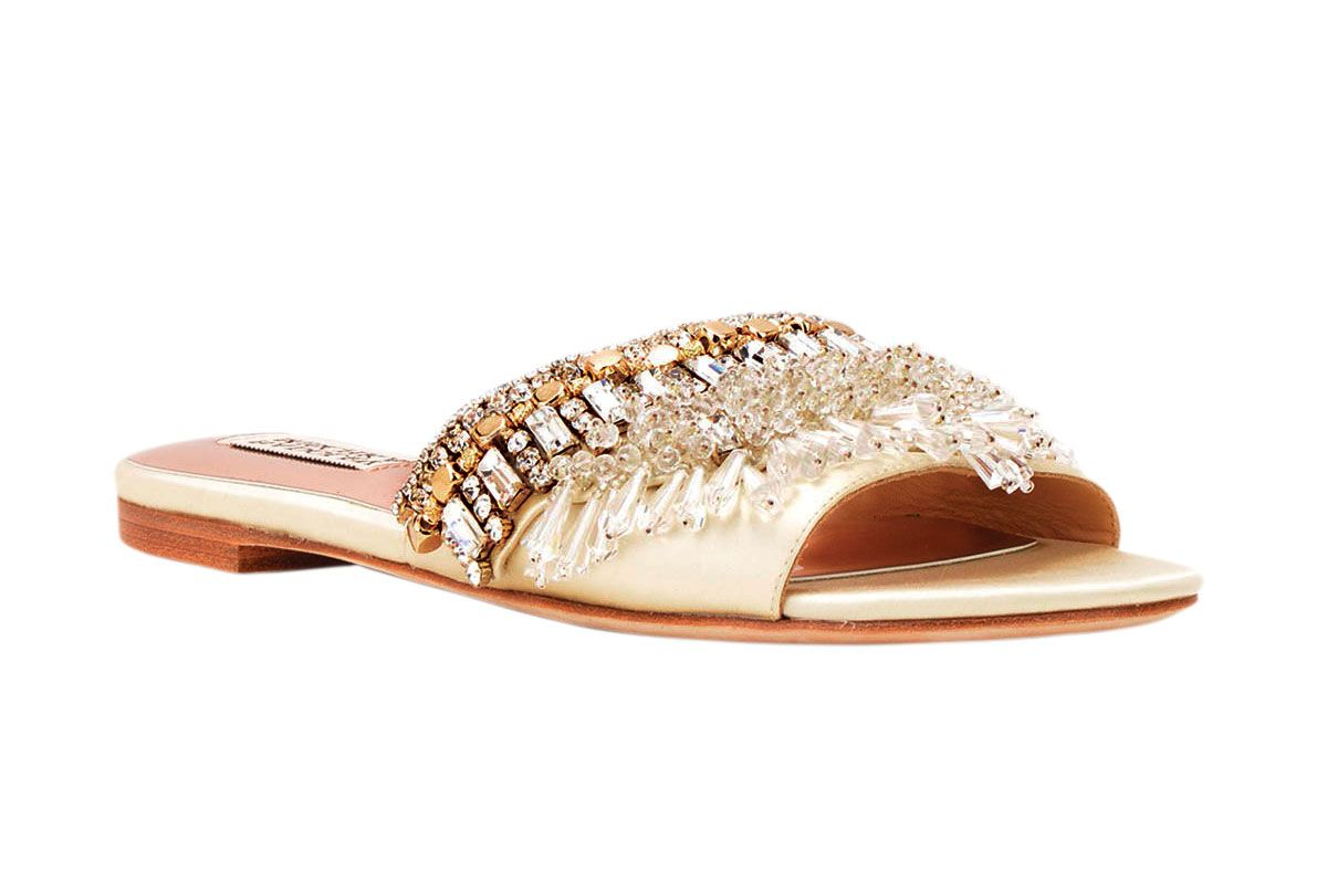 Badgley Mischka Kassandra Evening Slides