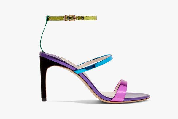 Sophia Webster Rosalind Metallic Sandals