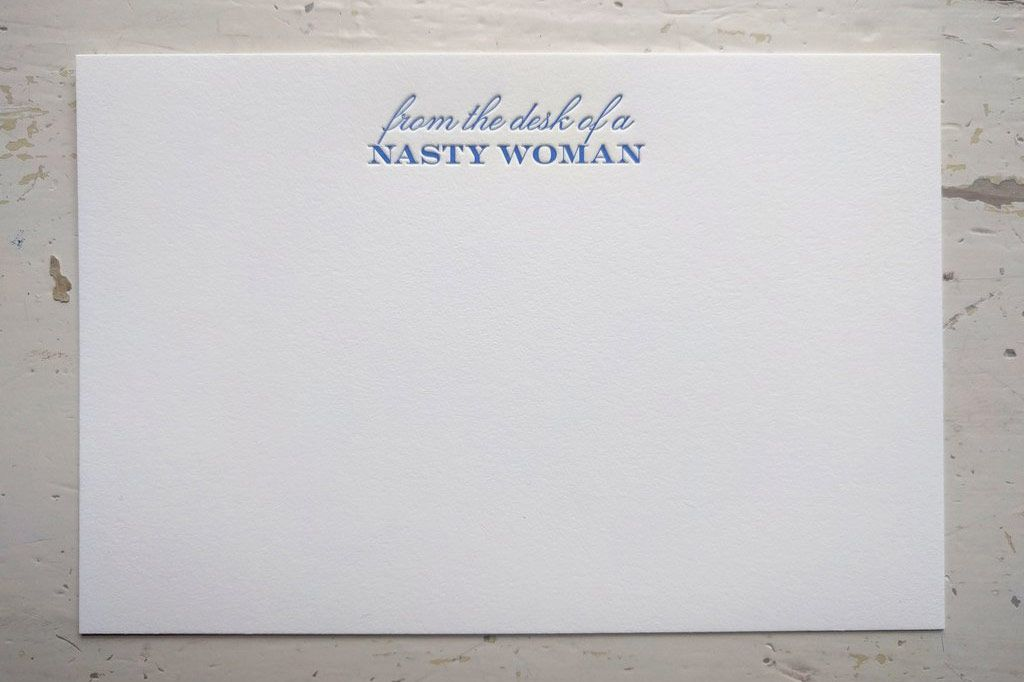 From the Desk of a Nasty Woman Stationery