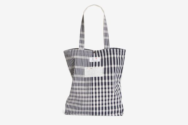 BEAMS Japan Check Tote