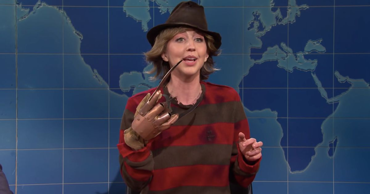 <p>Heidi Gardner Has Never Looked Less Like Freddy Krueger Than on  Weekend Update thumbnail