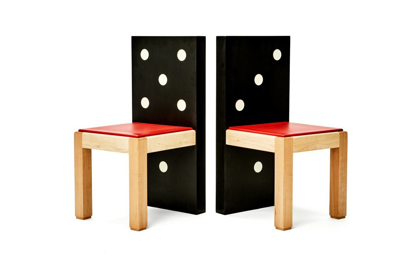 memphis design furniture. Domino Chair Memphis Design Furniture