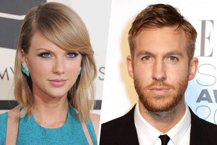 Taylor Swift; Calvin Harris.