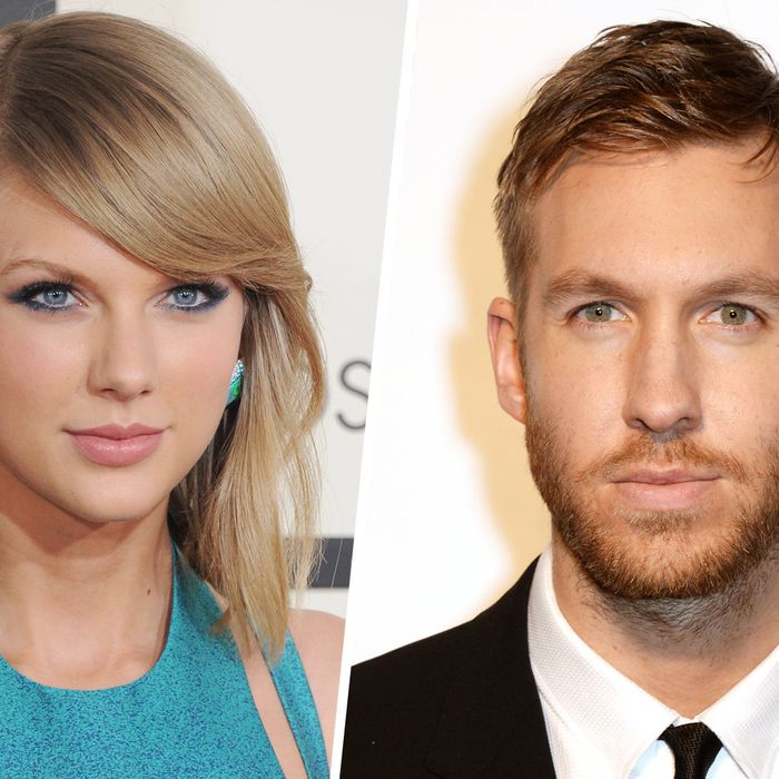 Taylor Swift; Calvin Harris.