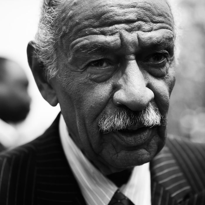 Democratic representative John Conyers.