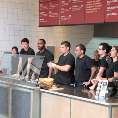 Yup, that's a Chipotle.