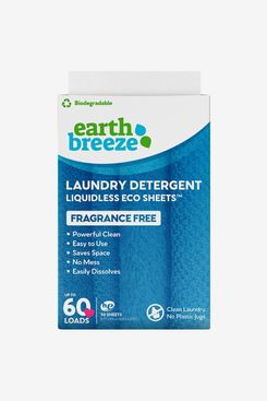 Earth Breeze Liquidless Laundry Detergent Sheets Fragrance Free