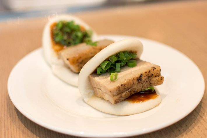 There might be pork buns.
