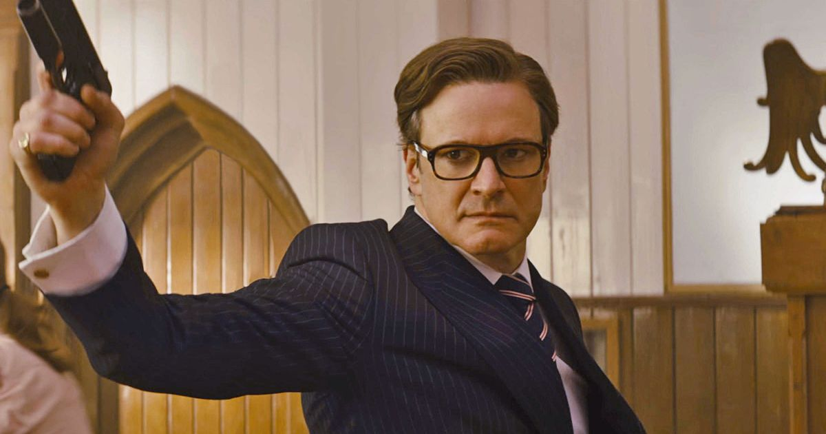 Colin Firth Might Be R...