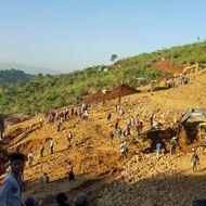 JADE MINE LANDSLIDE IN NORTHERN MYANMAR