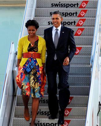 Barack & Michelle Obama