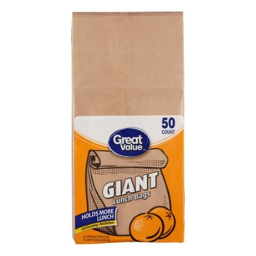 Great Value Giant Lunch Bags