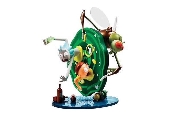 """Kidrobot Rick and Morty Figure 7"""" Tall"""
