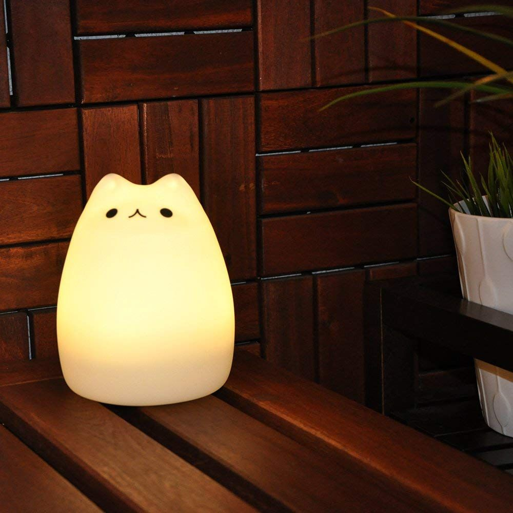 GoLine Cute Kitty LED Children Night-light
