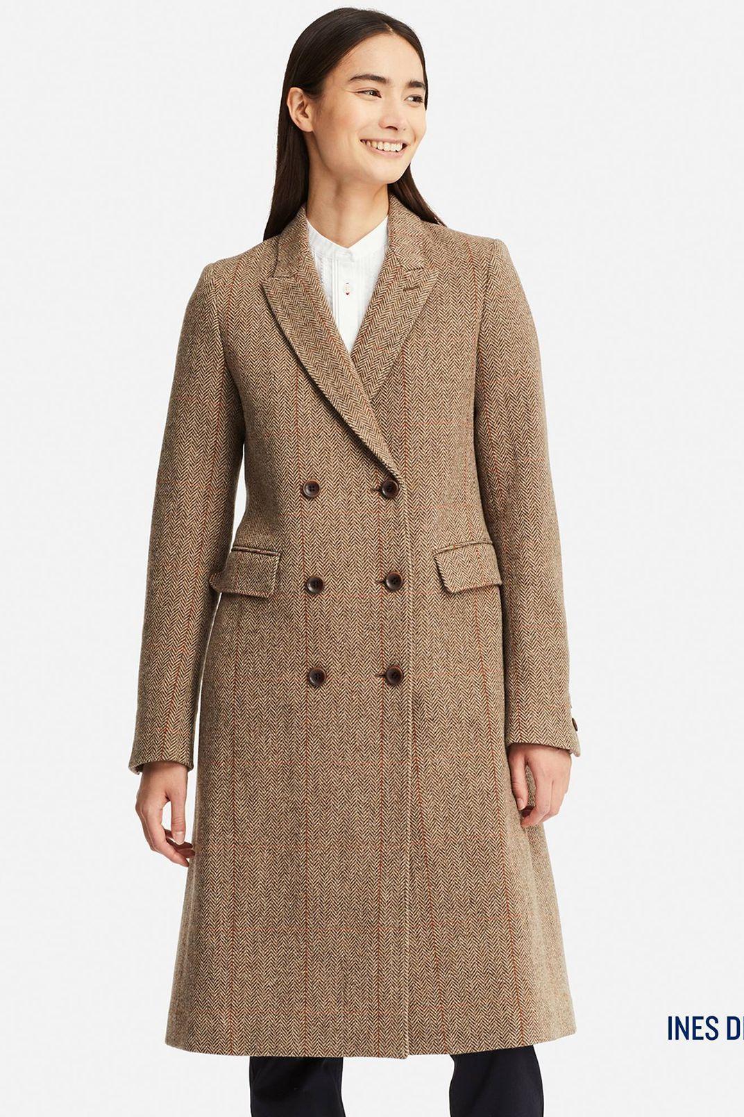 Uniqlo Women's Tweed Coat (Inès de la Fressange)