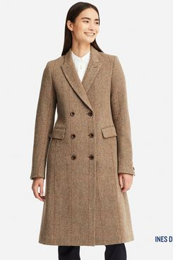 Uniqlo Women's Tweed Coat (Inès de la Fressange)