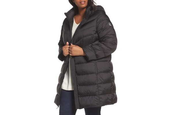Michael by Michael Kors Packable Down Long Coat