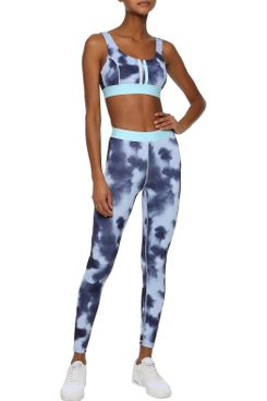 Iris & Ink Tie-dye Stretch Leggings