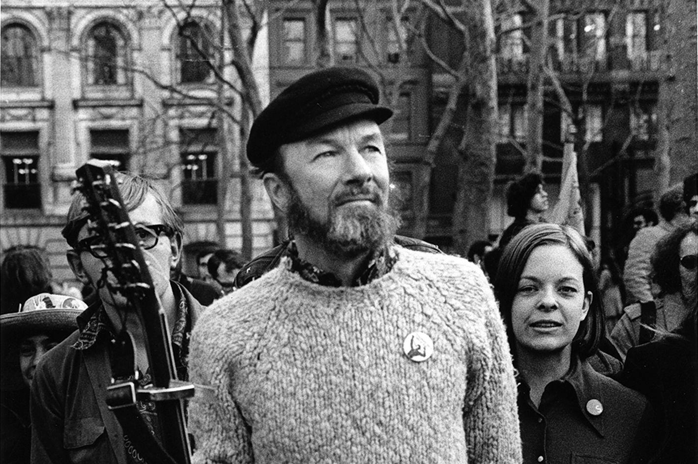 Seeger in 1970.