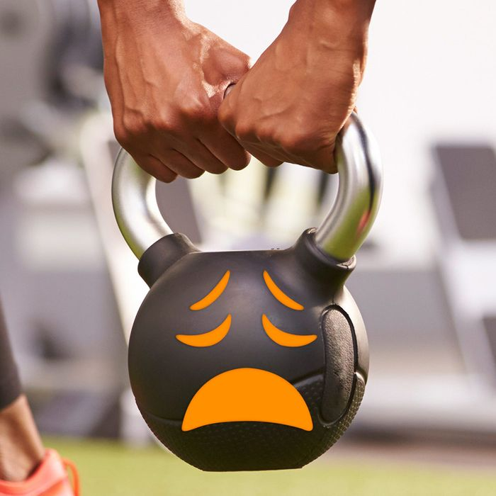 Yes, kettlebell, we're sad, too.