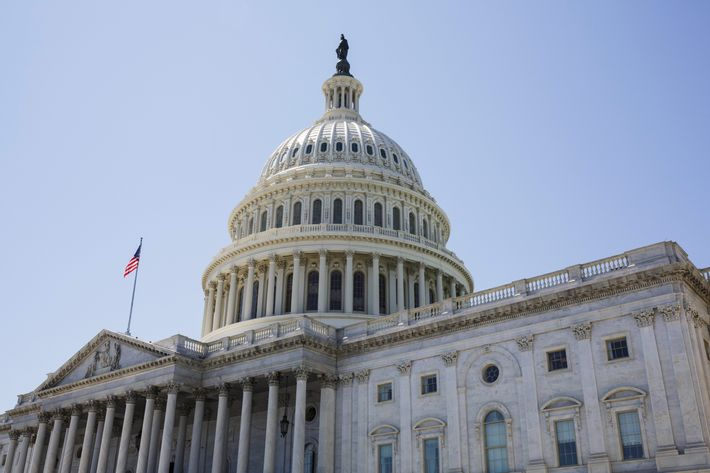 16 Apr 2014, Washington, DC, USA --- The United States Capital Building in Washington DC --- Image by ? James Leynse/Corbis