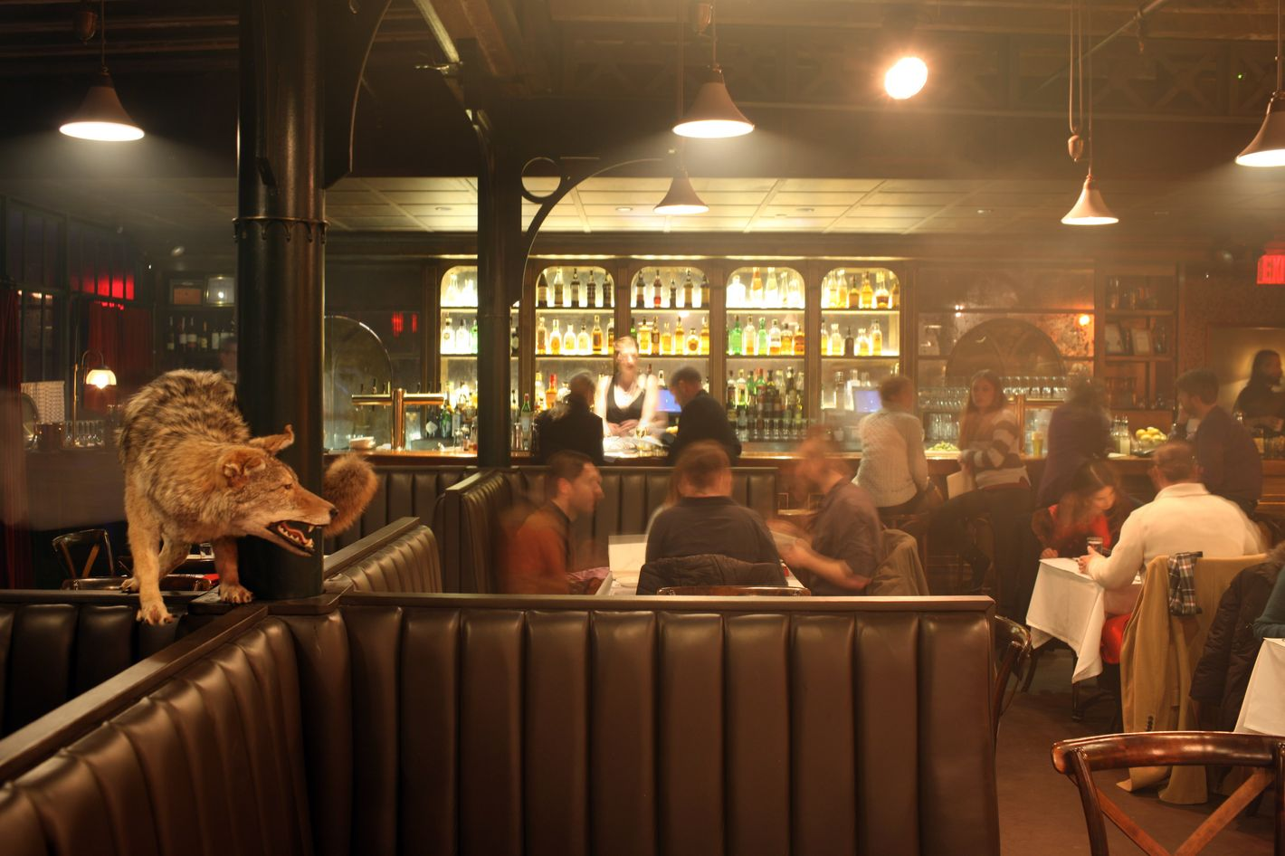 First Look at the Heath, Now Open Inside the McKittrick Hotel