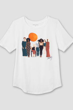 Universal Standard Ever Mothers Tee by Melissa Koby