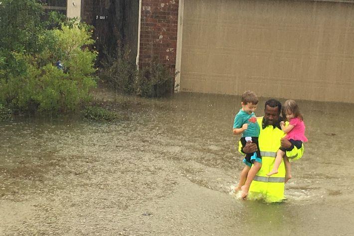 Catastrophic Flooding Swamps Houston Area