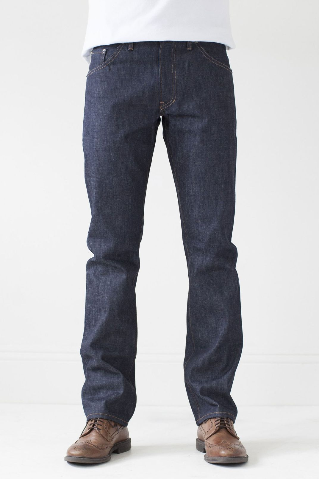 Raleigh Denim Jones Thin Fit Jeans, Raw Selvedge