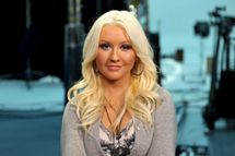 Singer Christina Aguilera is using her golden voice for good in the fight against hunger by filming a new public service announcement.