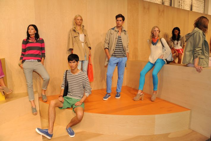 Spring 2012 looks from the Gap.