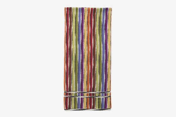 Missoni Home Jeff Bath Sheet, Multi Red