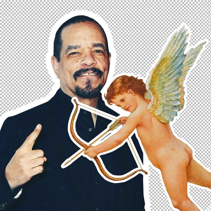 Ice-T and Cupid.