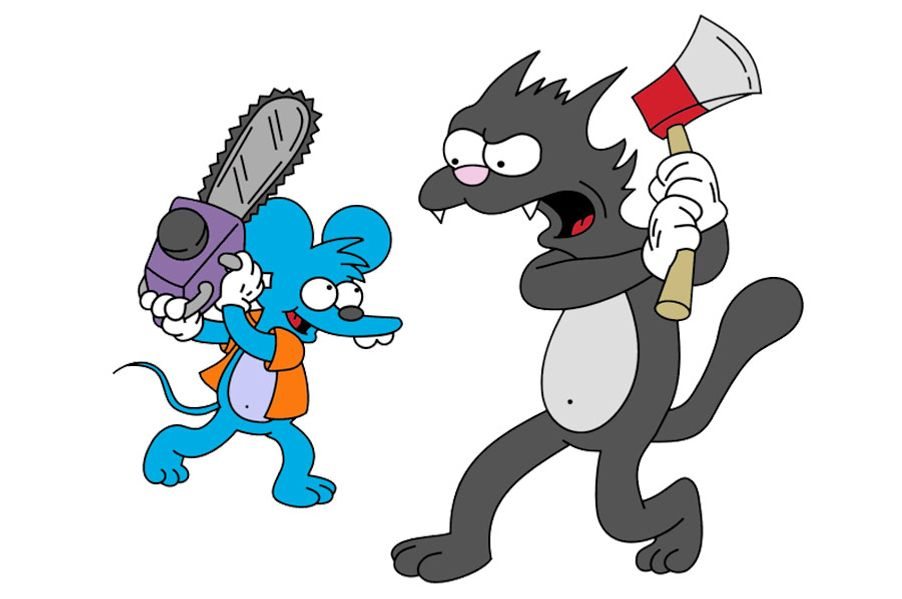 itchy and scratchy cartoon essay The itchy & scratchy show is an animated tv show and a segment of the krusty  the clown show on channel 6 the show involves an anthropomorphic.