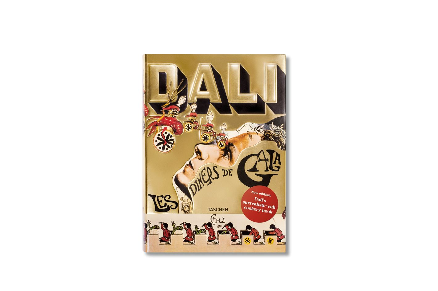 charming Best Oversized Coffee Table Books Part - 8: Dalí: Les Dîners de Gala, by Salvador Dali