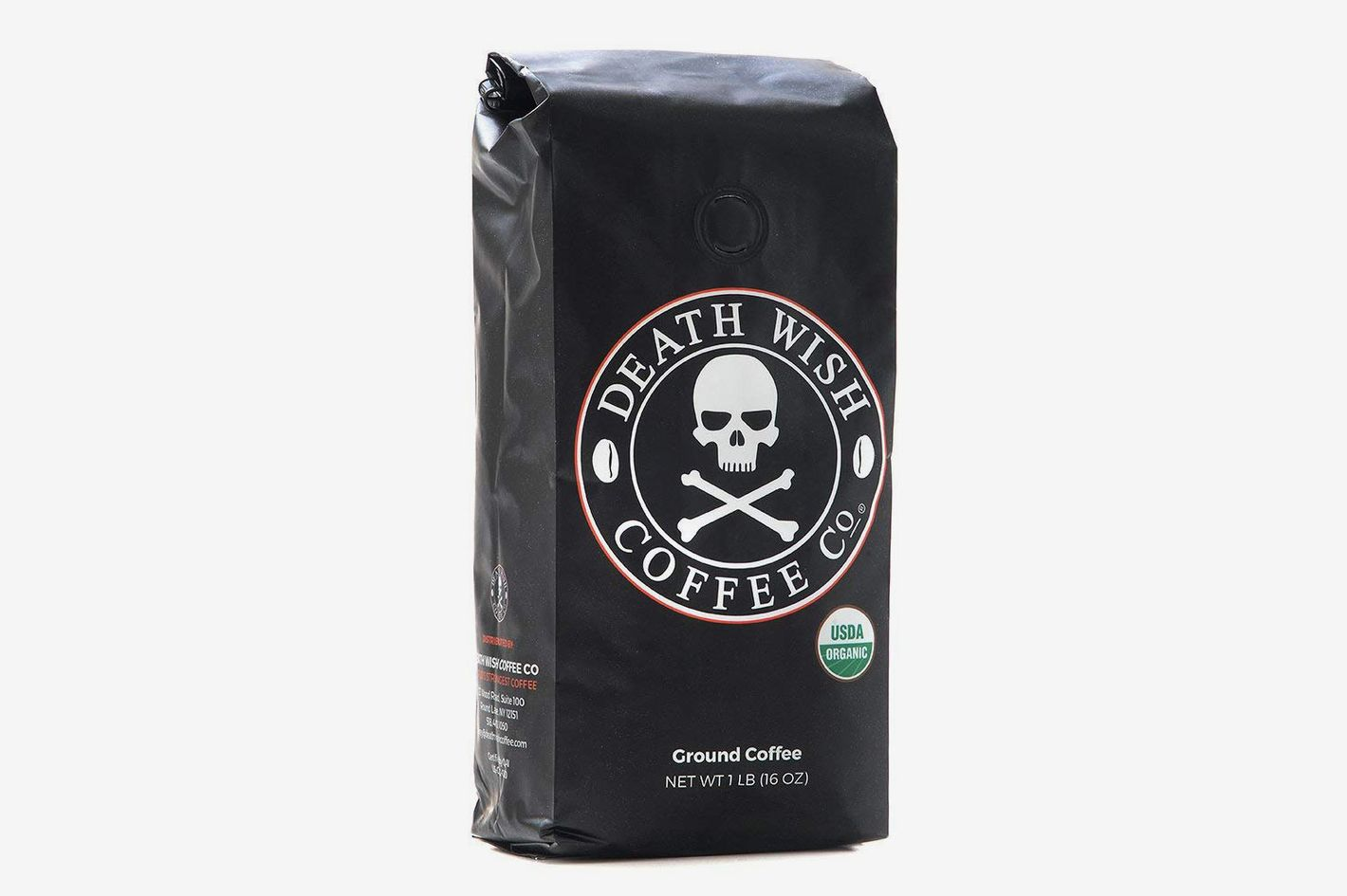 Death Wish Ground Coffee, 16 Ounces