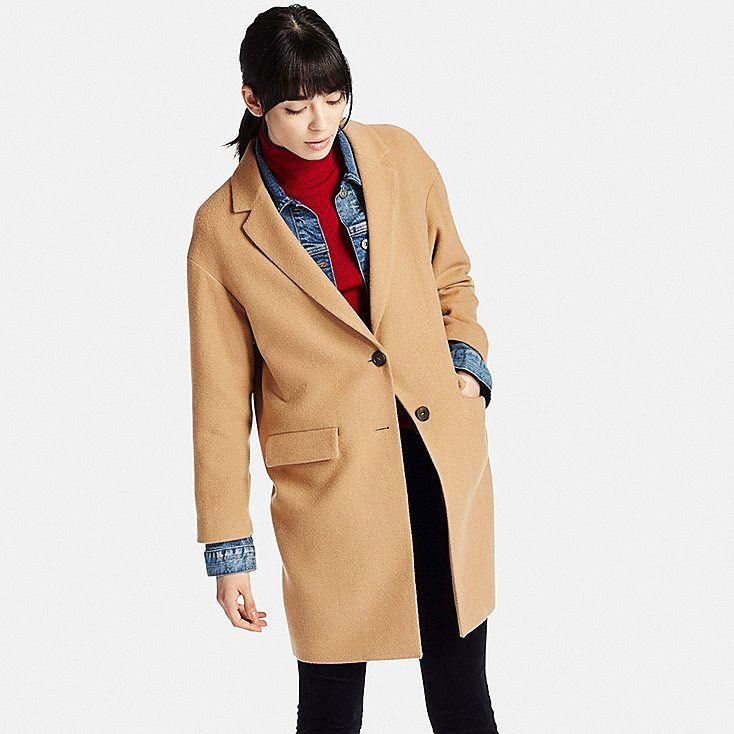 Manteau camel femme uniqlo
