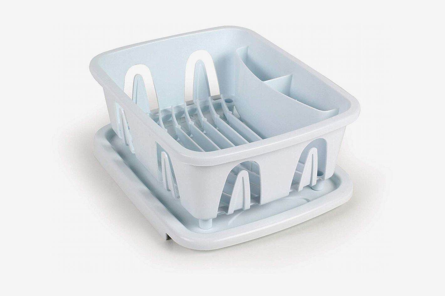 Camco Durable Mini Dish Drainer Rack and Tray