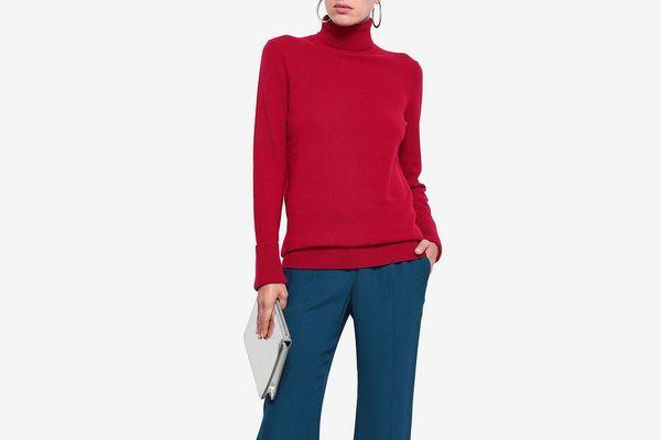 Equipment Mélange Cashmere Turtleneck Sweater