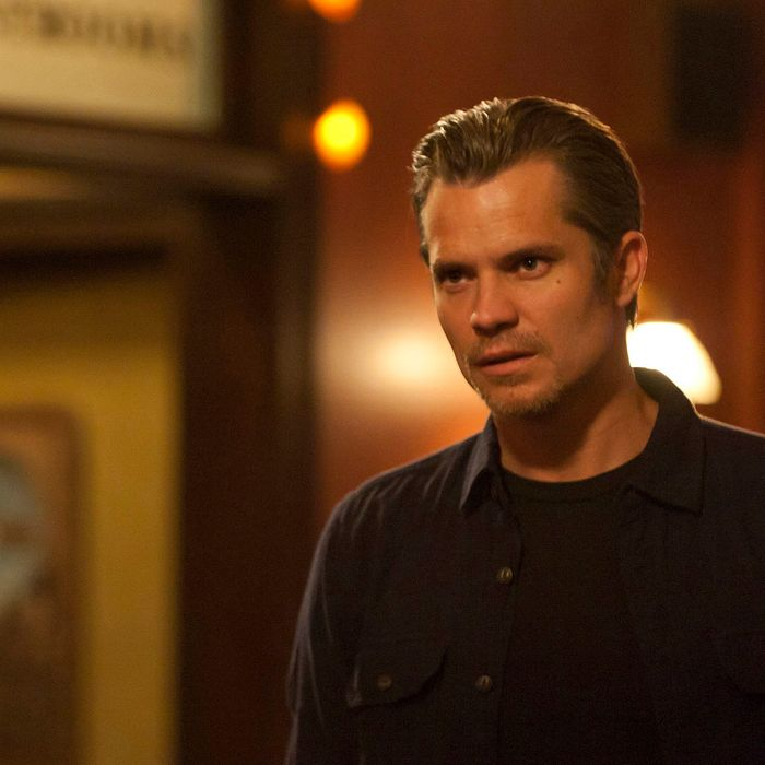 JUSTIFIED: Episode 10: Guy Walks into a Bar (Airs March 20, 10:00 pm e/p). Timothy Olyphant.