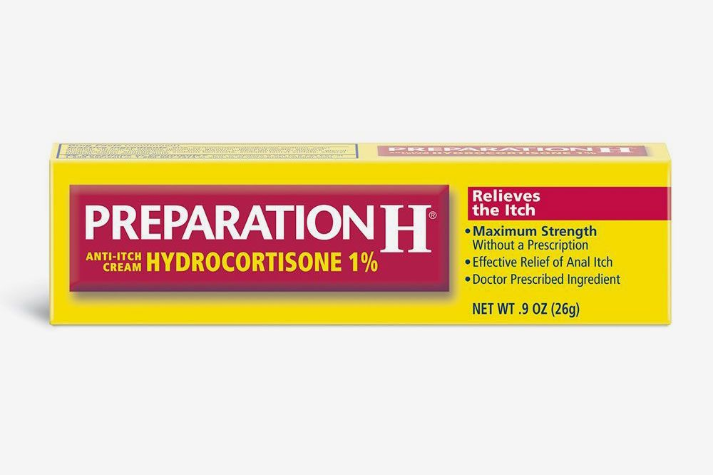 Preparation H Anti-Itch Treatment Cream With Hydrocortisone 1%, Maximum Strength Relief