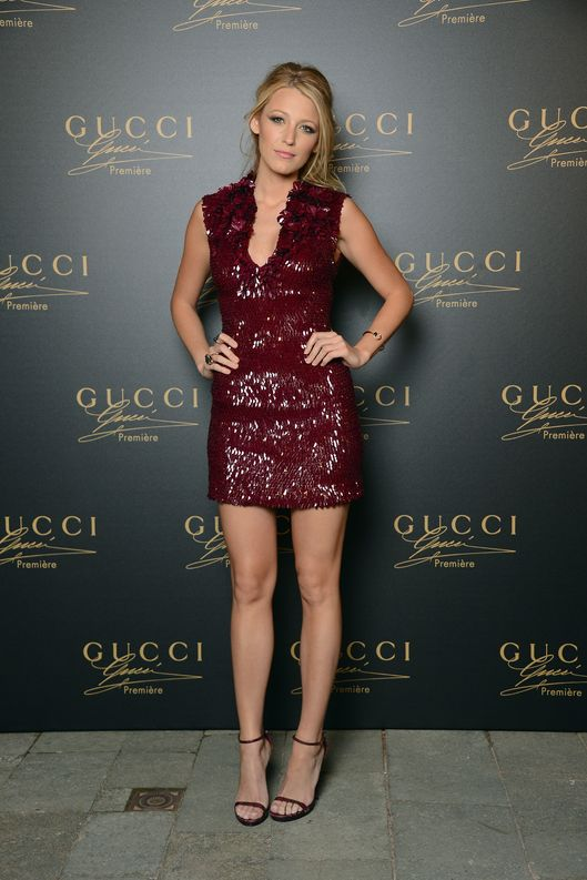 Actress Blake Lively attends the Gucci Premiere Fragrance Launch at Hotel Cipriani on September 1, 2012 in Venice, Italy.
