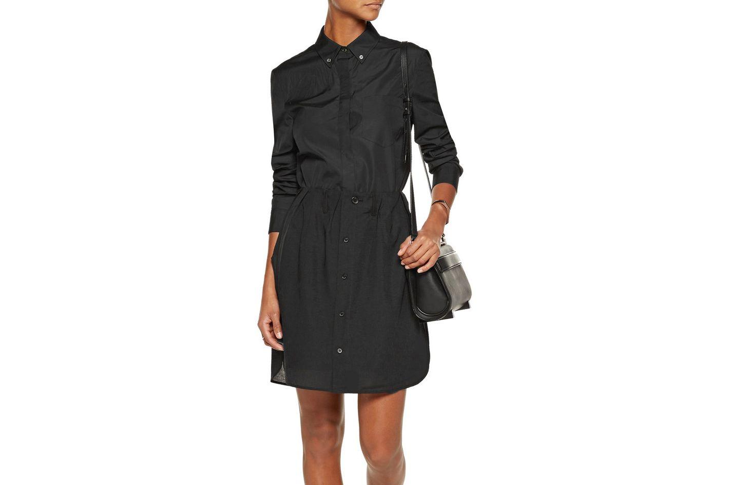 Y-3 + Adidas Originals Layered Linen-Blend Mini Skirt